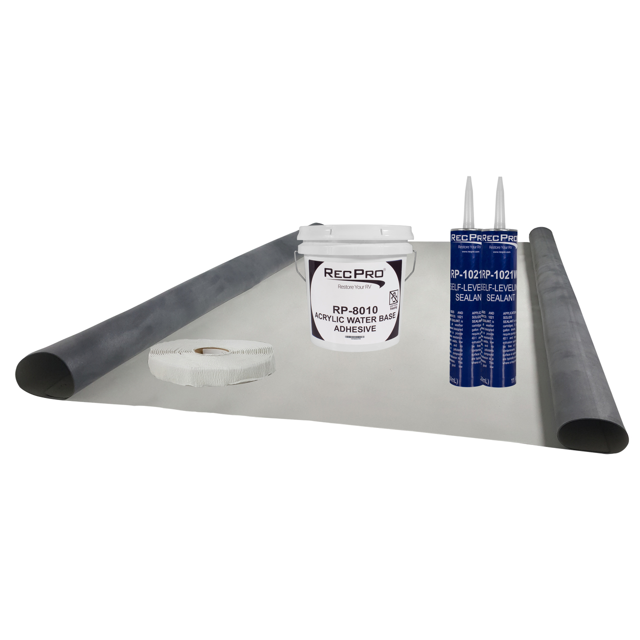 TPO RV Rubber Roof 9.5ft Wide Choose Your Length Install//Repair KitFlair