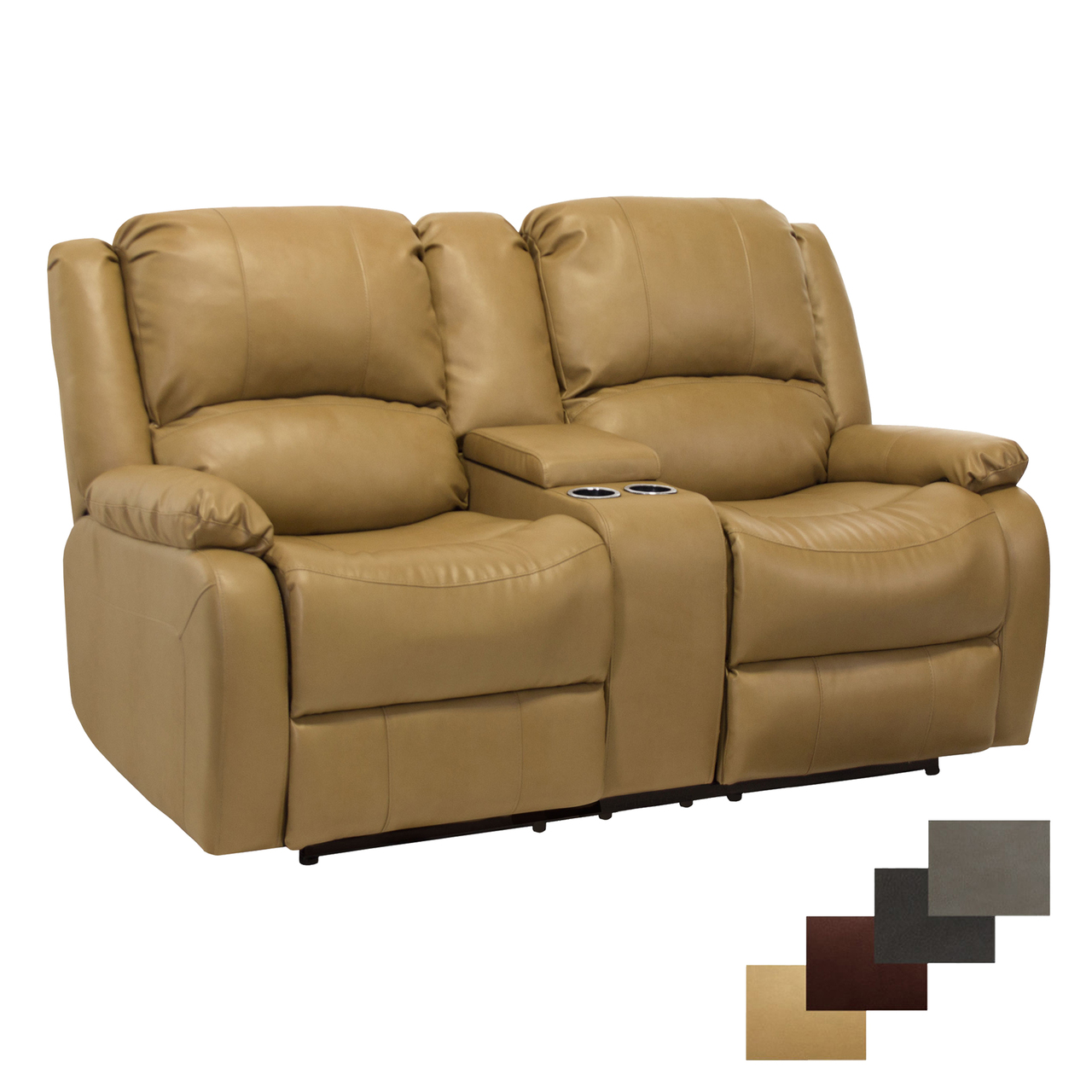 Double Rv Wall Hugger Recliner Sofa