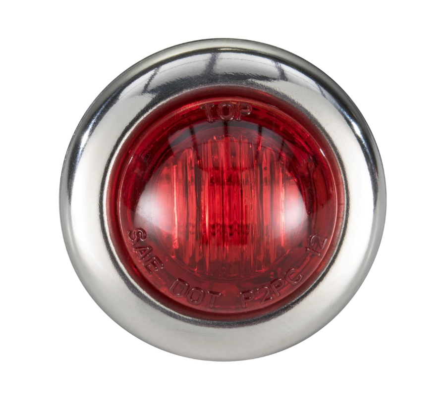 Led Lighting 3 4 Quot Red Red Led Clearance Marker Bullet