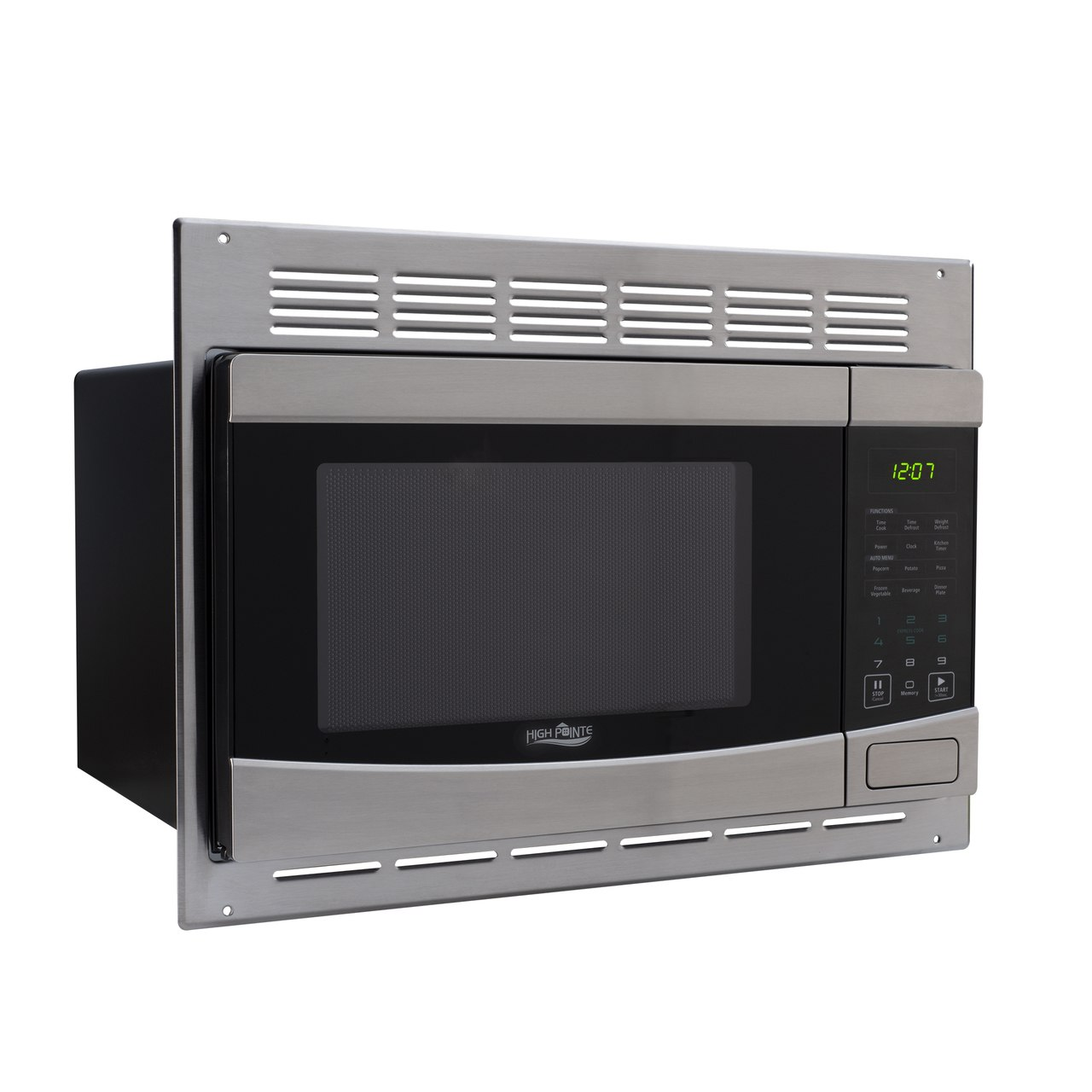 Appliances rv microwave stainless steel 1 0 cu ft - Stainless steel microwave interior ...
