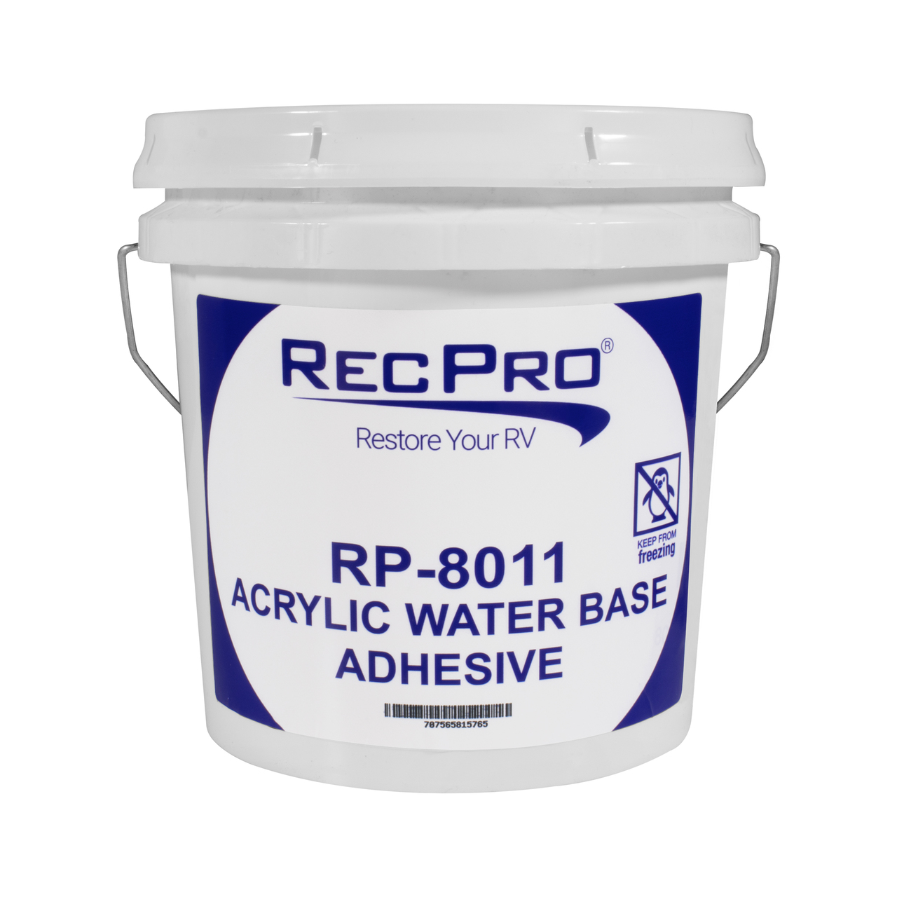 Roofing 8011 Water Based Rv Rubber Roof Adhesive