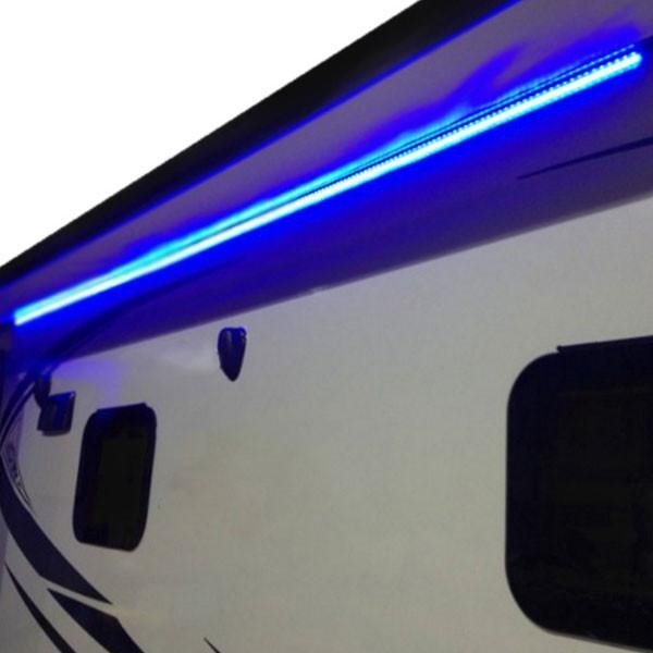 25' LED RV Awning Party Light with Mounting Channel