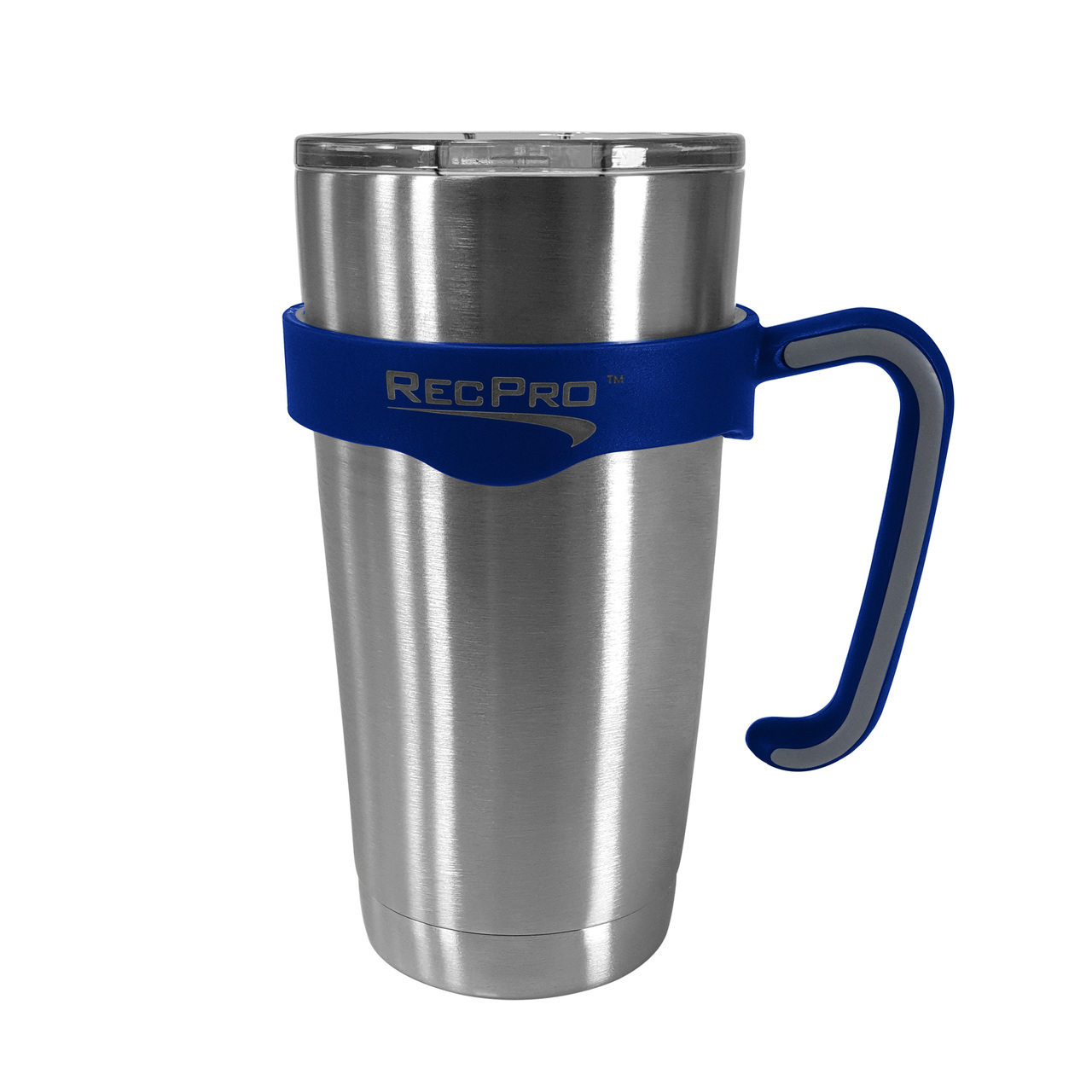 Drinkware Recpro 20oz Handle For Stainless Steel Tumbler Blue